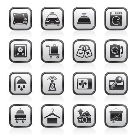 laundry hanger: Hotel y motel instalaciones de sala de iconos