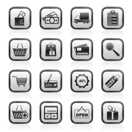 converter: Shopping and website icons