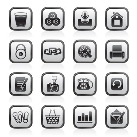 Website and internet icons Stock Vector - 13809562