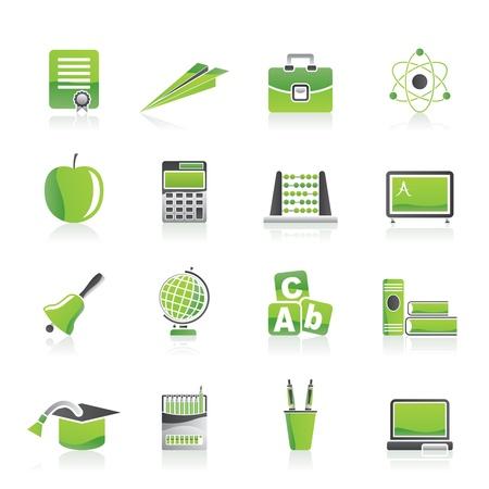 iconos educacion: la escuela y la educaci�n de los iconos