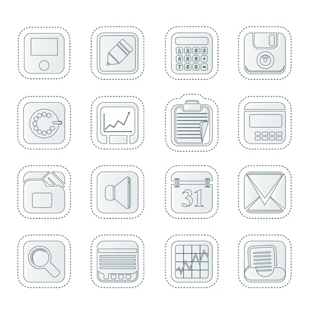 phone symbol: Business, Office and Finance Icons