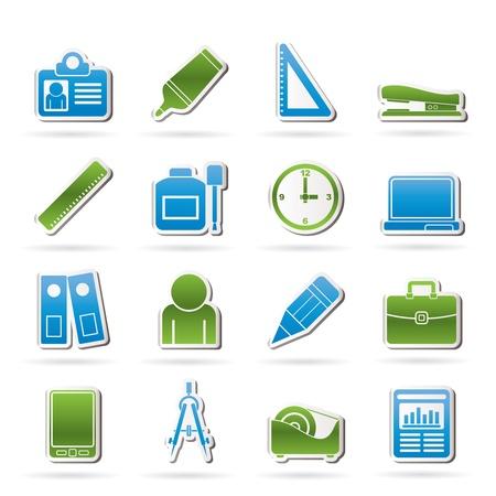 correttore: Dell'ufficio e di affari Icone degli oggetti