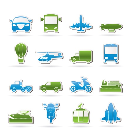 service lift: Transportation and travel icons