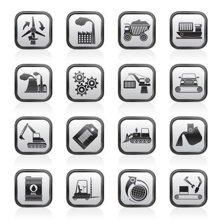 andere Art von Wirtschaft und Industrie Symbole Vektorgrafik