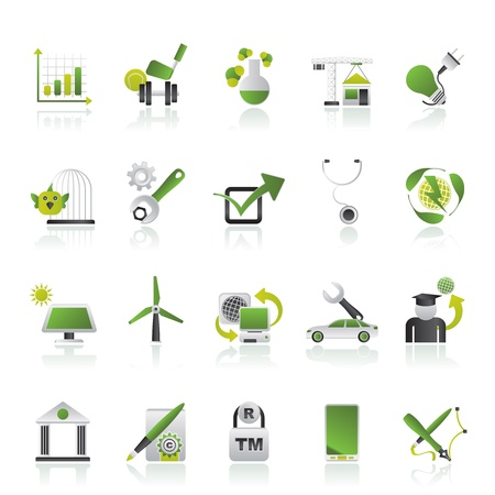 Internet and Website Portal icons - vector icon set Vector