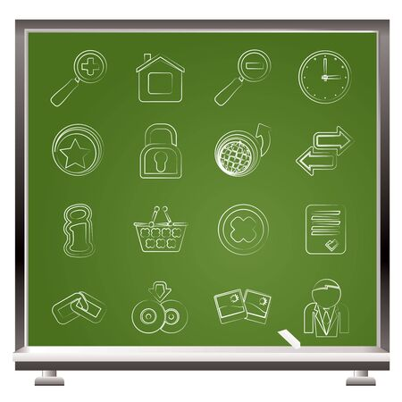 Web Site and Internet icons - vector icon set Stock Vector - 16884824
