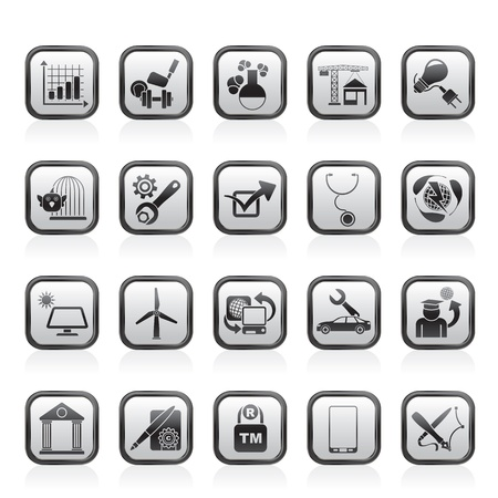 Internet and Website Portal icons - vector icon set Stock Vector - 17217035