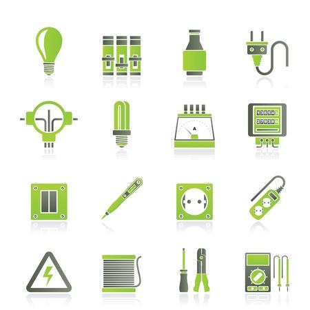 Elektrische apparaten en apparatuur pictogrammen