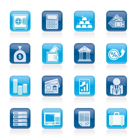 banker: Bank and Finance Icons
