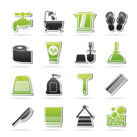 personal care: Bathroom and Personal Care icons