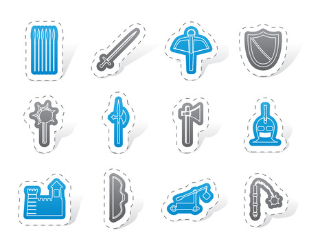 arbalest: medieval arms and objects icons