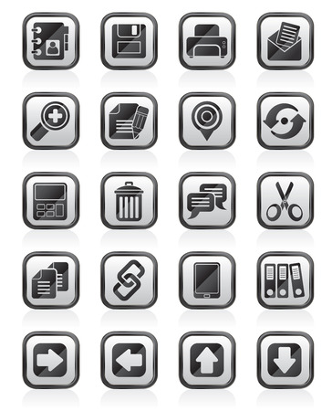 internet Interface Icons -  vector icon set Illustration