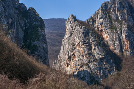 formation: Rock Formation in Erma River Gorge, Serbia
