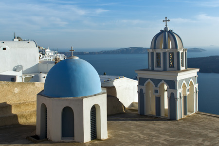 thira: Church in Fira Santorini Thira  Cyclades Islands