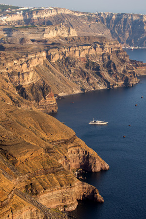 thira: Island of Santorini Thira  Cyclades Islands  Landscape