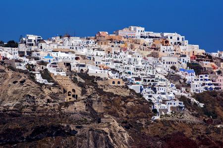 Town of Ia Santorini Thira  Cyclades Islands photo