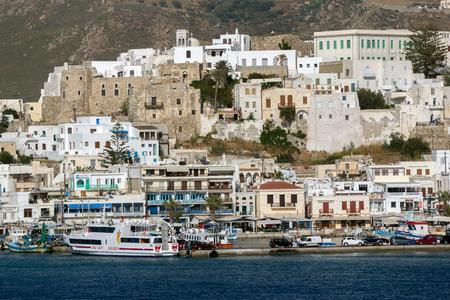 naxos: Venetian fortress in Naxos Cyclades Islands