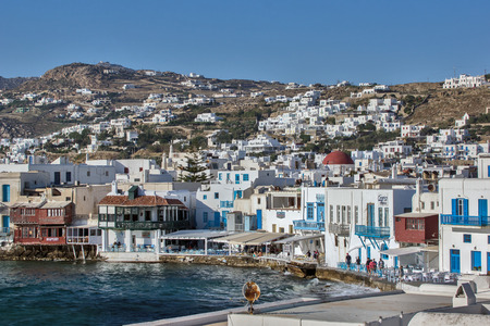 cyclades: Little Venice at Mykonos Island Cyclades Islands