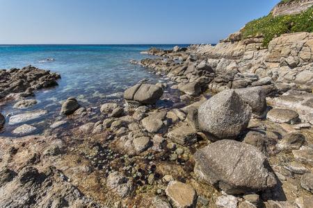 mykonos: Platis Gialos Beach on the island of Mykonos Cyclades Islands