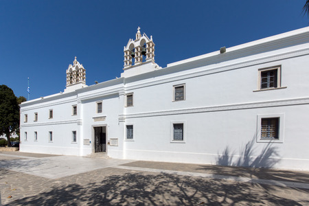 country church: Church of Panagia Ekatontapiliani in Parikia Paros island Cyclades