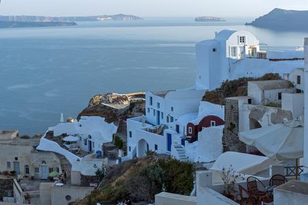 oia: Town of Oia Santorini Tira Island Cyclades