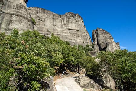 meteora: Meteora Monasteries Landscape Greece