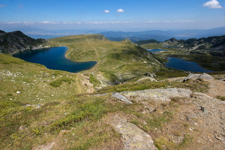 trefoil: The KidneyThe Twin and The Trefoil lakes The Seven Rila Lakes Rila Mountain Bulgaria