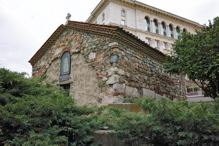sofia: ancient church of St. Petka Samardzhiiska  Sofia Bulgaria Stock Photo