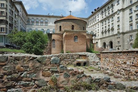 ancient church of St. George  Sofia Bulgaria