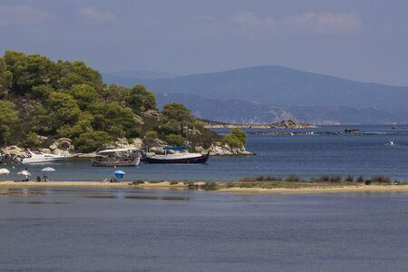 sithonia: Livari Beach Vourvourou Chalkidiki  Sithonia Central Macedonia Greece