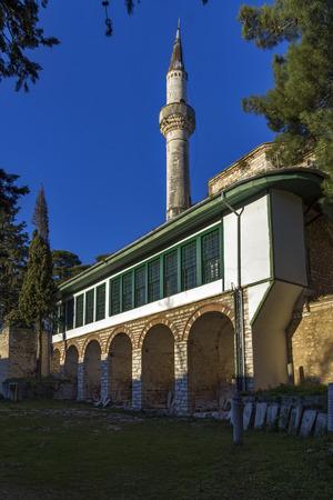 Aslan Pasha Mosque in the castle of Ioannina Epirus Greece Editöryel