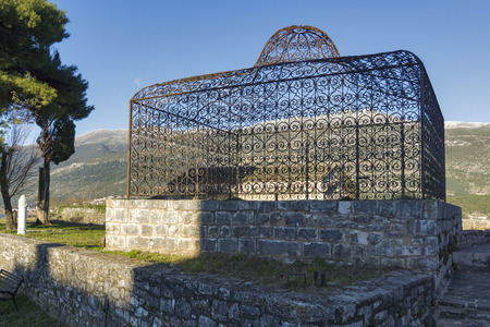Aslan Pasha tomb in the castle of Ioannina Epirus Greece