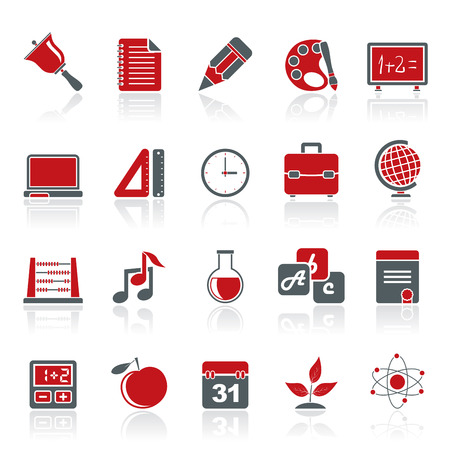 vector studies: Education science and studies icons   vector icon set