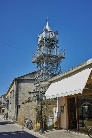 belfry: Belfry of the Church in Lefkada town Ionian Islands Greece