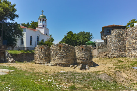 archeologist: Church of St. Cyril and  St. Methodius, Sozopol town, Bulgaria