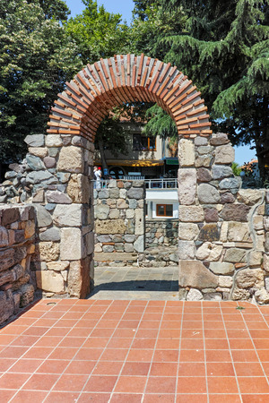 archeologist: Remains of from Ancient Sozopol, Bulgaria Editorial