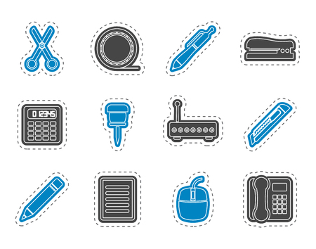 document icon: Business and Office icons - vector icon set