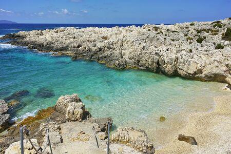 cefallonia: amazing view of Alaties Beach, Kefalonia, Ionian islands, Greece