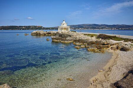 theodore: Lighthouse of St. Theodore at Argostoli,  Kefalonia, Ionian islands, Greece Stock Photo