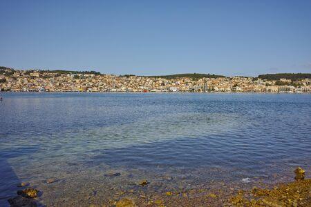 Panoramic View of Argostoli town, Kefalonia, Ionian islands, Greece