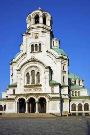 sofia: Alexander Nevsky cathedral and square, Sofia, Bulgaria