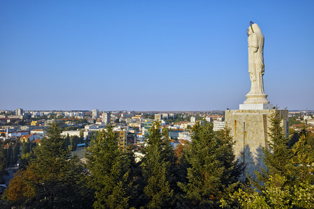 Mother Mary: The biggest Monument of Virgin Mary in the world, City of Haskovo, Bulgaria