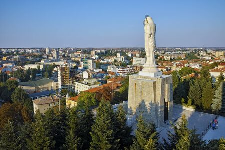 saint mary: The biggest Monument of Virgin Mary in the world, City of Haskovo, Bulgaria