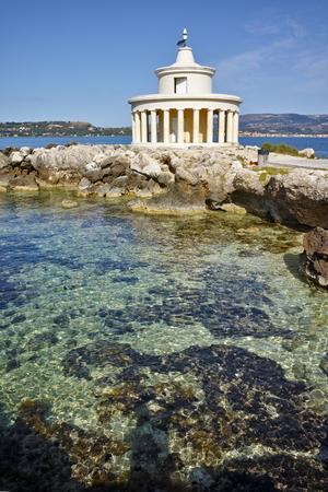 theodore: Panorama of Lighthouse of St. Theodore at Argostoli,  Kefalonia, Ionian islands, Greece