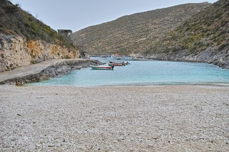 zakynthos: Amazing bay of Stenitis beach, Zakynthos island, Greece