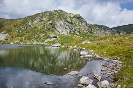 trefoil: Amazing view of The Trefoil lake, Rila Mountain, The Seven Rila Lakes, Bulgaria