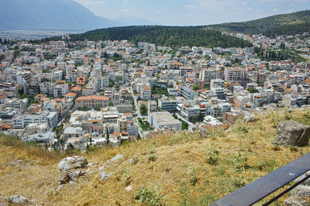 lamia: Amazing view of Lamia City, Central Greece