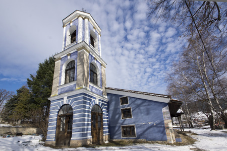 assumption: Old Cathedral church Assumption of St. Mary in Koprivshtitsa, Sofia Region, Bulgaria Stock Photo