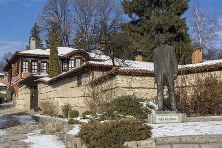 monument historical monument: Monument of Todor Kableshkov  in historical town of Koprivshtitsa, Sofia Region, Bulgaria Editorial