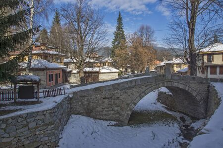 uprising: The bridge which began April Uprising in historical town of Koprivshtitsa, Sofia Region, Bulgaria